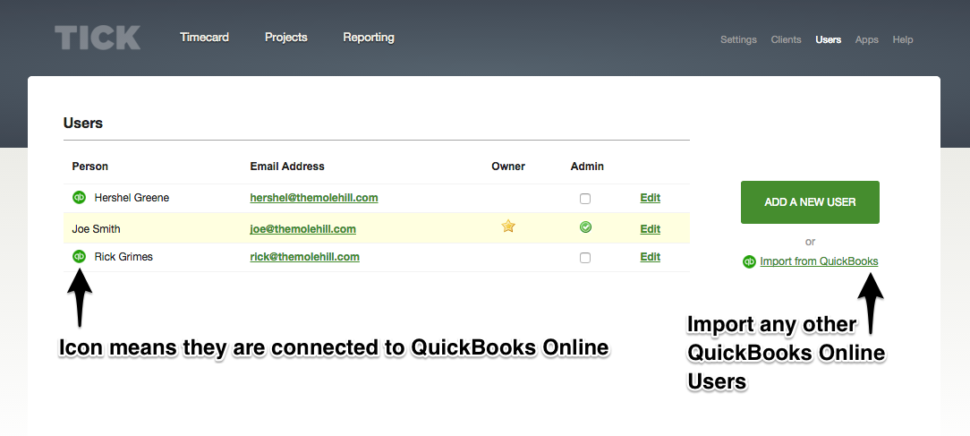 QuickBooks Users