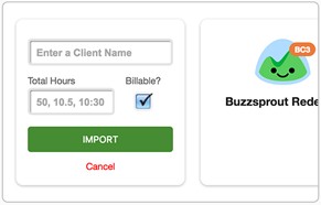 Import projects from Basecamp